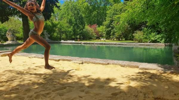 plage piscine saint remy de provence